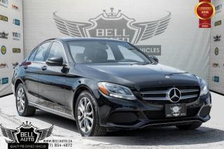 Used 2016 Mercedes-Benz C-Class C 300, 4MATIC, NAVI, BACK-UP CAM, PANO ROOF, LEATHER for sale in Toronto, ON