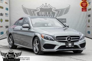Used 2016 Mercedes-Benz C-Class C 300, AMG PKG, NAVI, BACK-UP CAM, PANO ROOF, BLIND SPOT for sale in Toronto, ON