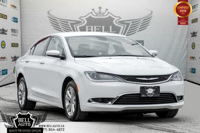 2015 Chrysler 200 Limited, ALLOY, BLUETOOTH, PUSH START, A/C, HEATED SEAT