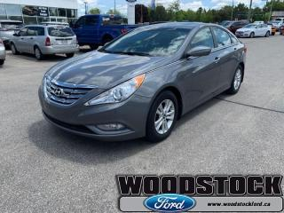 Used 2013 Hyundai Sonata GL  - one owner - local - trade-in for sale in Woodstock, ON