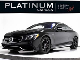 Used 2015 Mercedes-Benz S-Class S63 AMG 4MATIC COUPE, NAVI, 360 CAM, HEADS UP, DTR for sale in Toronto, ON