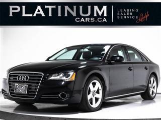 Used 2013 Audi A8 3.0T Quattro PREMIUM, NAVI, CAM, Heated Lthr for sale in Toronto, ON