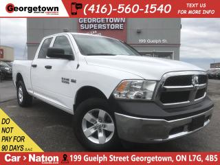 Used 2017 RAM 1500 SXT | QUAD CAB | 4X4 | 5.7L V8 | 31,393KM for sale in Georgetown, ON