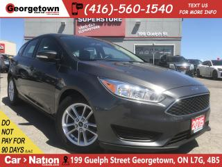 Used 2015 Ford Focus SE | HEATED SEATS | BACK UP CAM | BLUETOOTH | for sale in Georgetown, ON