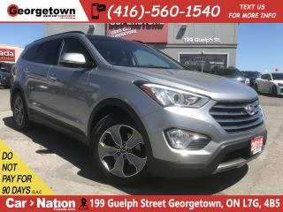 Used 2015 Hyundai Santa Fe XL Luxury | PANO ROOF | AWD | LEATHER | BACK UP CAM for sale in Georgetown, ON