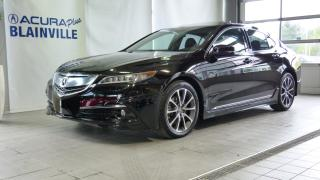 Used 2015 Acura TLX SH-AWD ** ÉLITE ** for sale in Blainville, QC