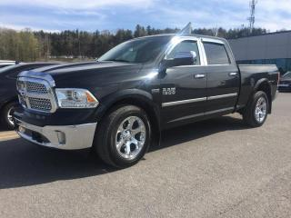 Used 2017 RAM 1500 LARAMIE CREW CAB CAISSE 6.4 GARANTIE PLA for sale in Ste-Marie, QC