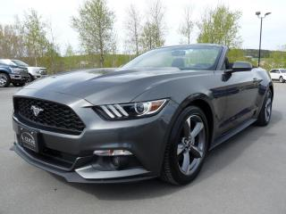 Used 2017 Ford Mustang CONVERTIBLE, V6 3.7L,  TRÈS BAS KM for sale in Vallée-Jonction, QC
