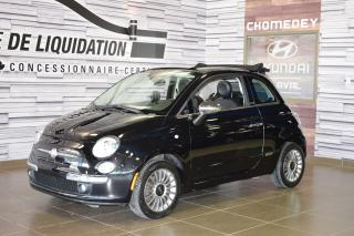 Used 2012 Fiat 500 Decapotable+cuir+gps for sale in Laval, QC