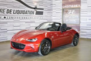 Used 2016 Mazda Miata MX-5 Gs+gps+mags+decapota for sale in Laval, QC