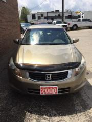 Used 2008 Honda Accord Sdn EX-L for sale in Kitchener, ON
