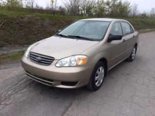 Used 2004 Toyota Corolla 4dr Sdn CE Manual for sale in Quebec, QC