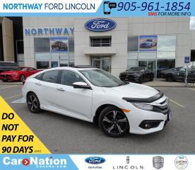 Used 2017 Honda Civic Touring | NAV | PWR HTD LEA | SUNROOF | TURBO | for sale in Brantford, ON