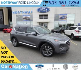Used 2019 Hyundai Santa Fe Preferred | AWD | HTD SEATS/WHEEL | PUSH START | for sale in Brantford, ON