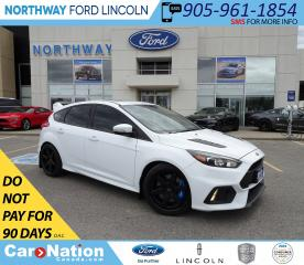 Used 2017 Ford Focus RS | NAV | RECARO | SUNROOF | 350 HP | 6 SPEED | for sale in Brantford, ON
