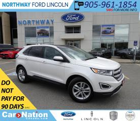 Used 2016 Ford Edge SEL | NAV | HTD LEATHER | PANOROOF | PUSH START | for sale in Brantford, ON