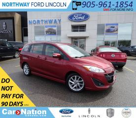 Used 2017 Mazda MAZDA5 GT | HTD LEATHER | SUN ROOF | 6 PASSENGER | for sale in Brantford, ON