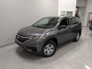 Used 2016 Honda CR-V Traction intégrale 5 portes LX for sale in Chicoutimi, QC