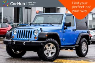 Used 2010 Jeep Wrangler Sport|4x4|6SpeedManualTrans|AuxPort|RemovableHardTop for sale in Thornhill, ON