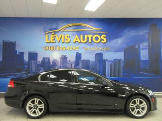 Used 2009 Pontiac G8 A/c Cruise Control for sale in Lévis, QC