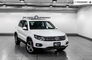 Used 2017 Volkswagen Tiguan Comfortline 2.0T 6sp at w/Tip 4M for sale in Newmarket, ON