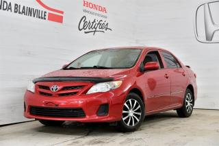 Used 2013 Toyota Corolla S for sale in Blainville, QC
