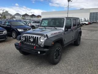 Used 2017 Jeep Wrangler UNLIMITED RUBICON *CUIR*HITCH* for sale in Brossard, QC