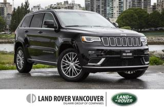 Used 2017 Jeep Grand Cherokee 4x4 Summit for sale in Vancouver, BC