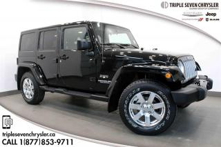 Used 2016 Jeep Wrangler Unlimited Sahara NAVIGATION - LEATHER for sale in Regina, SK