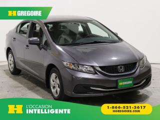 Used 2015 Honda Civic LX CAMÉRA BLUETOOTH for sale in St-Léonard, QC