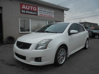 Used 2012 Nissan Sentra SE-R SPEC V + NAVI + TOIT + WOW ! for sale in St-Hubert, QC