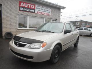 Used 2001 Mazda Protege ES ** TOIT OUVRANT ** for sale in St-Hubert, QC