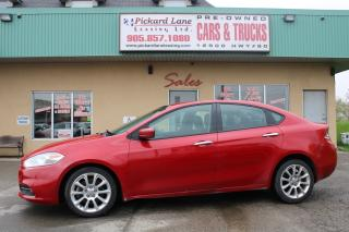 Used 2014 Dodge Dart Limited Sold AS IS for sale in Bolton, ON