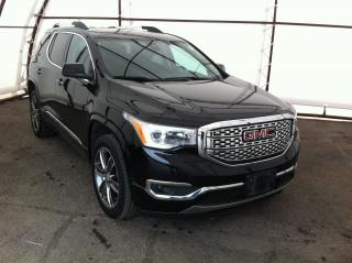 Used 2017 GMC Acadia Denali DUAL SUNROOFS, HEATED AND COOLED SEATS, REVERSE CAMERA, NAVIGATION for sale in Ottawa, ON
