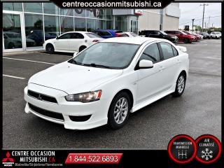 Used 2012 Mitsubishi Lancer SE MANUELLE MAGS A/C AILERON for sale in St-Jérôme, QC