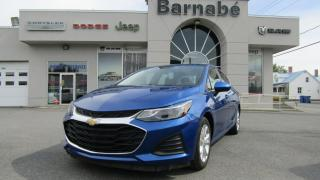 Used 2019 Chevrolet Cruze LT APPLE CARPLAY ANDROID AUTO SIÈGES CHA for sale in Napierville, QC