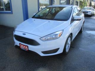 Used 2015 Ford Focus GAS SAVING SE - HATCH MODEL 5 PASSENGER 2.0L - DOHC.. SYNC TECHNOLOGY.. BLUETOOTH SYSTEM.. BACK-UP CAMERA.. for sale in Bradford, ON