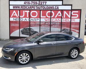 Used 2015 Chrysler 200 C-ALL CREDIT ACCEPTED for sale in Scarborough, ON