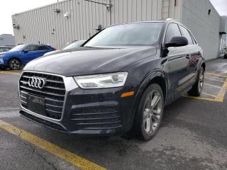 Used 2018 Audi Q3 Progressiv for sale in Drummondville, QC