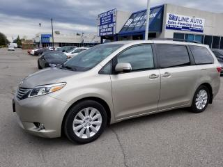 Used 2015 Toyota Sienna XLE 7 Passenger 1 OWNER|ACCIDENT FREE|NAVIGATION|AWD|SUNROOF|HEATED SEATS|BACKUP CAMERA|REAR DVD PKG|ALLOYS| for sale in Concord, ON