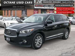 Used 2013 Infiniti JX35 Navi! 360 Cam! Leather! AWD! for sale in Scarborough, ON