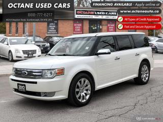 Used 2012 Ford Flex Limited 1 Owner! Accident Free! for sale in Scarborough, ON
