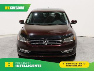 Used 2013 Volkswagen Passat HIGHLINE TDI A/C for sale in St-Léonard, QC