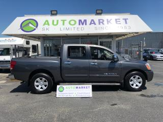 Used 2005 Nissan Titan SE Crew Cab 2WD FREE BCAA & WARRANTY! for sale in Langley, BC