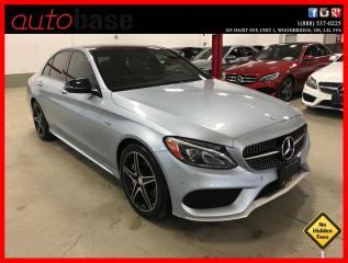 Used 2016 Mercedes-Benz C-Class C450 AMG 4MATIC DESIGNO INT PREMIUM CLEAN CARFAX! for sale in Vaughan, ON
