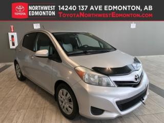 Used 2012 Toyota Yaris LE | Power Mirrors | 5 Pass | Bluetooth | Heat Mir for sale in Edmonton, AB