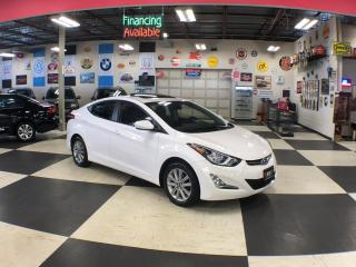 Used 2016 Hyundai Elantra LS AUT0 A/C SUNROOF BLUETOOTH 88K for sale in North York, ON