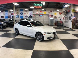 Used 2014 BMW 3 Series 320I X DRIVE SPORT PKG AUT0 LEATHER SUNROOF 96K for sale in North York, ON