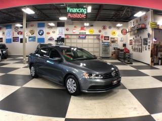 Used 2015 Volkswagen Jetta Sedan 2.0L TRENDLINE AUT0 A/C H/SEATS BACKUP CAMERA 98K for sale in North York, ON