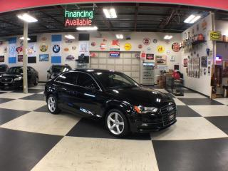 Used 2015 Audi A3 1.8T KOMFORT AUT0 LEATHER SUNROOF CAMERA for sale in North York, ON